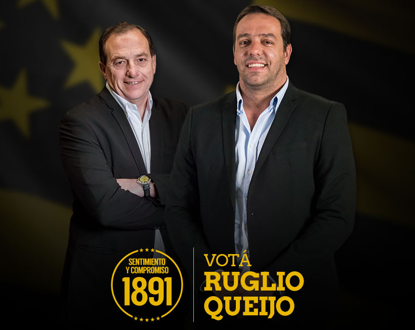 Foto de Ignacio Ruglio y Alvaro Queijo